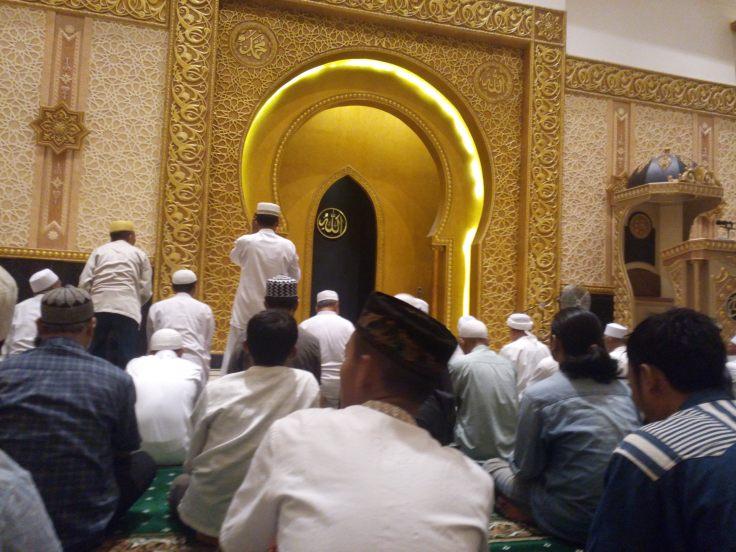 Mimbar Mesjid Raya Mujahidin